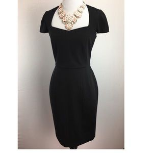 NWT Banana Republic Sloan black stretch dress(2)